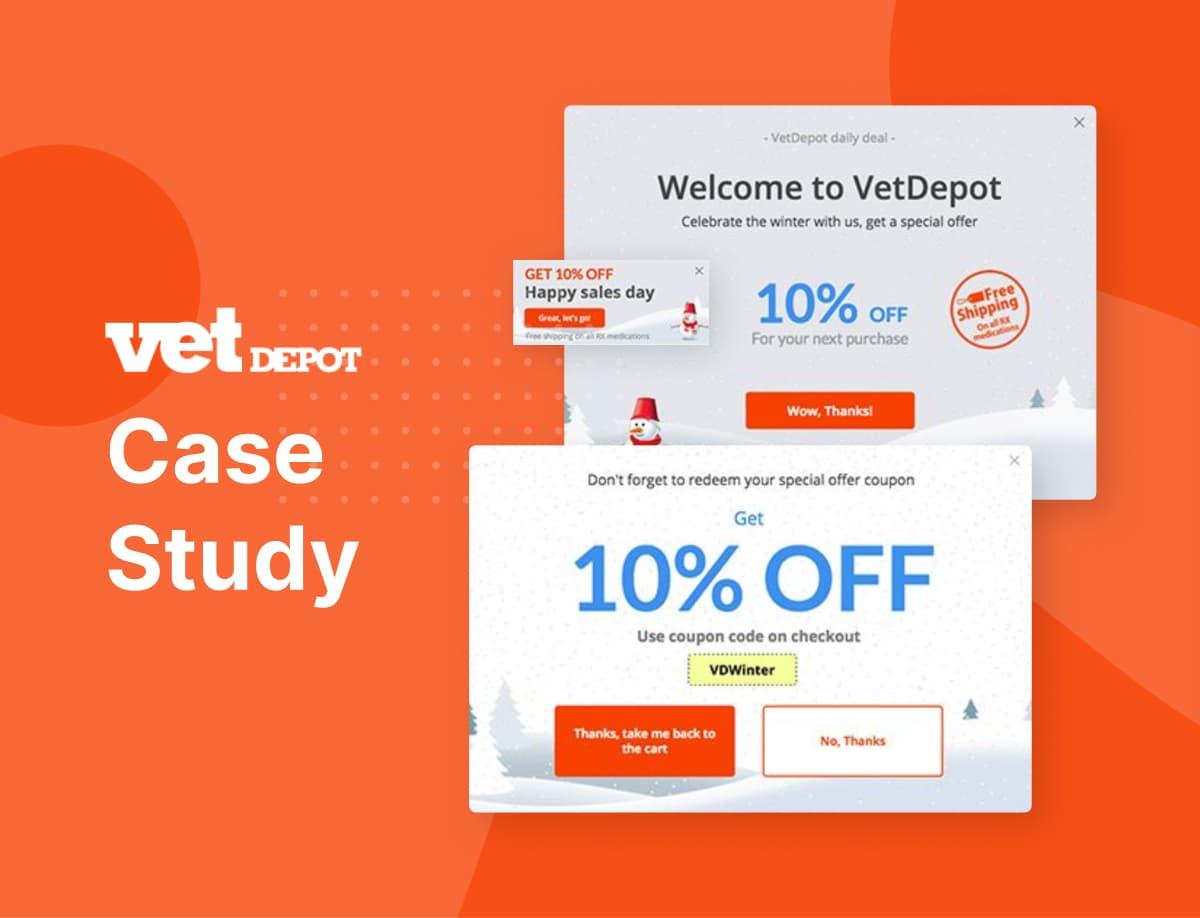 18% Online Sales Uplift; VetDepot Case Study