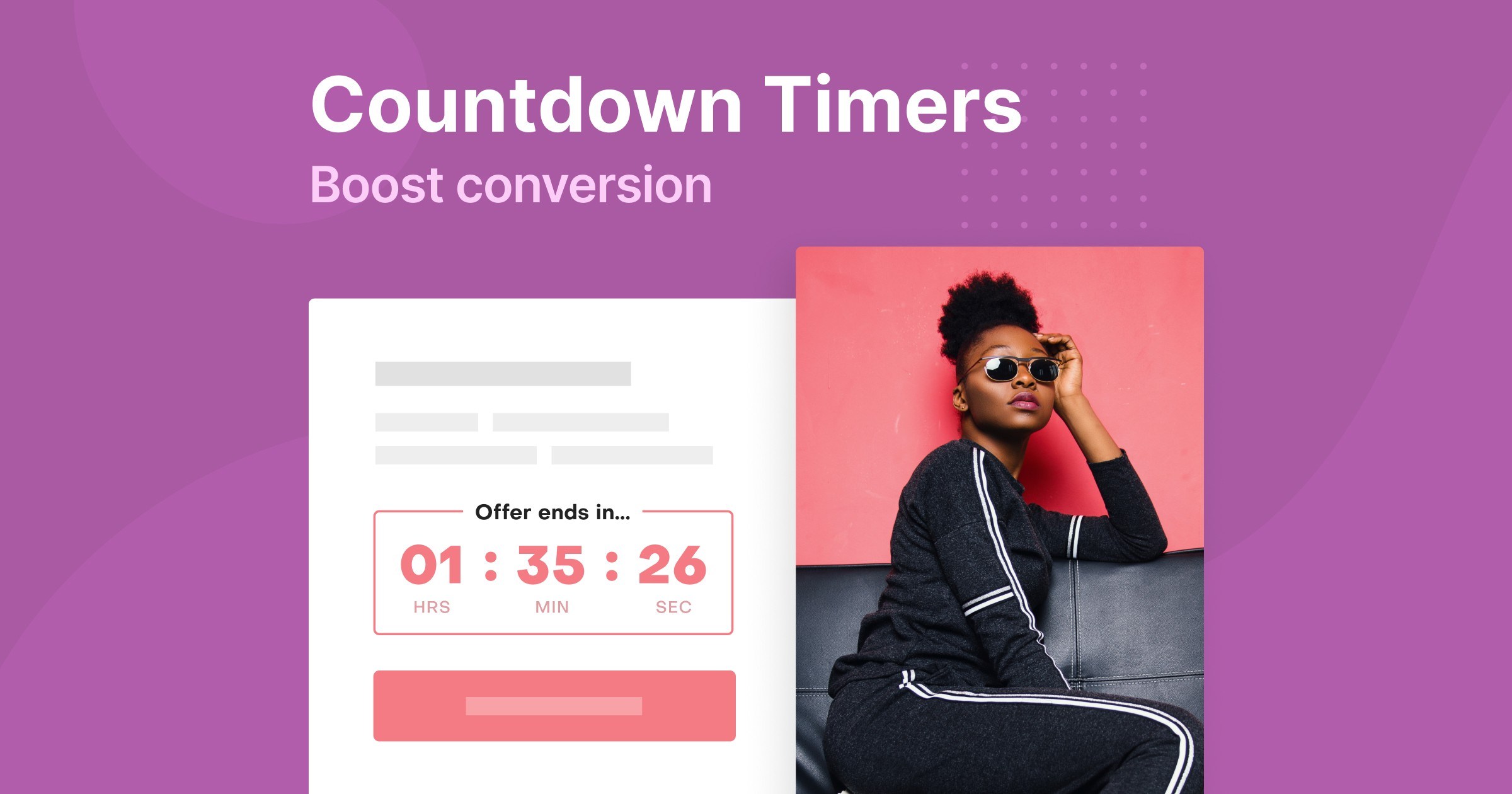 How To Use Countdown Timers To Boost Conversions With Examples Adoric Blog