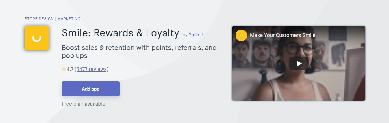 Smile Rewards and Loyalty