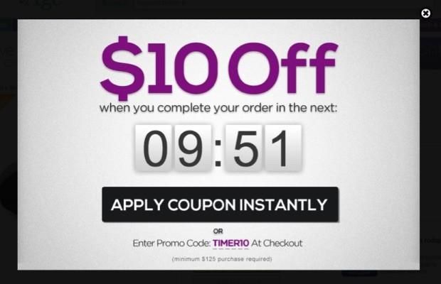 discount popup