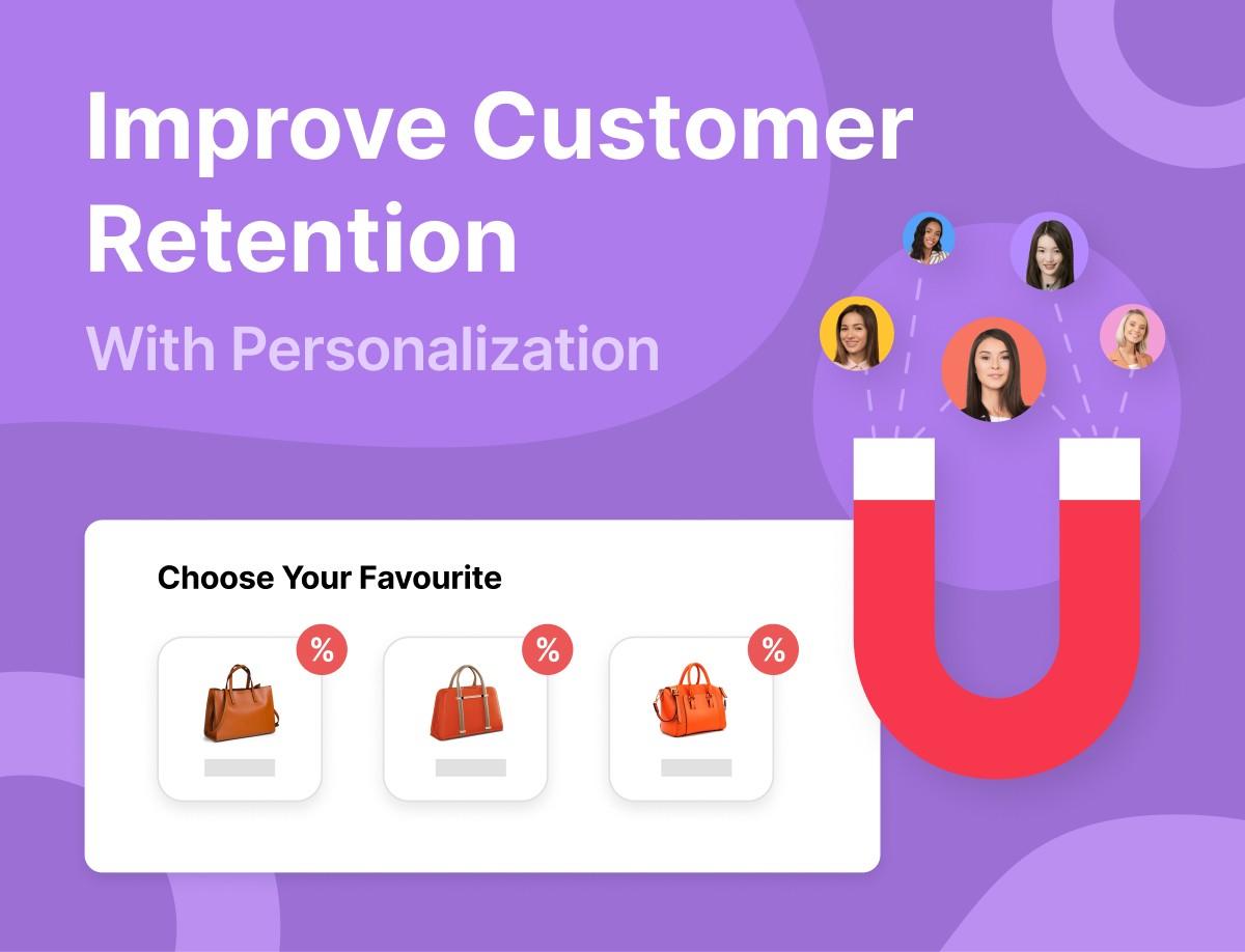 website personalization increase customer retention