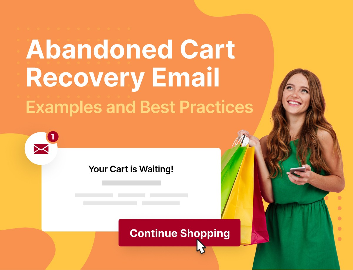 abandoned cart recovery email