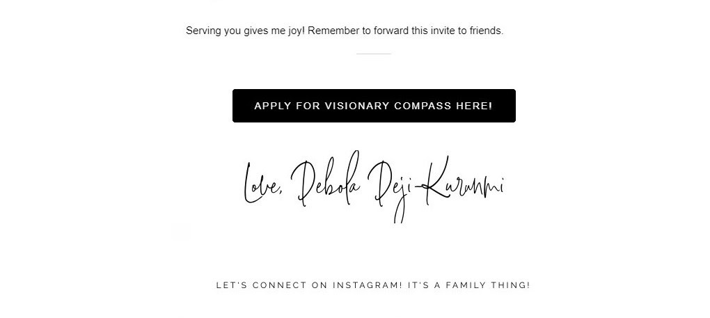 Memorable email
