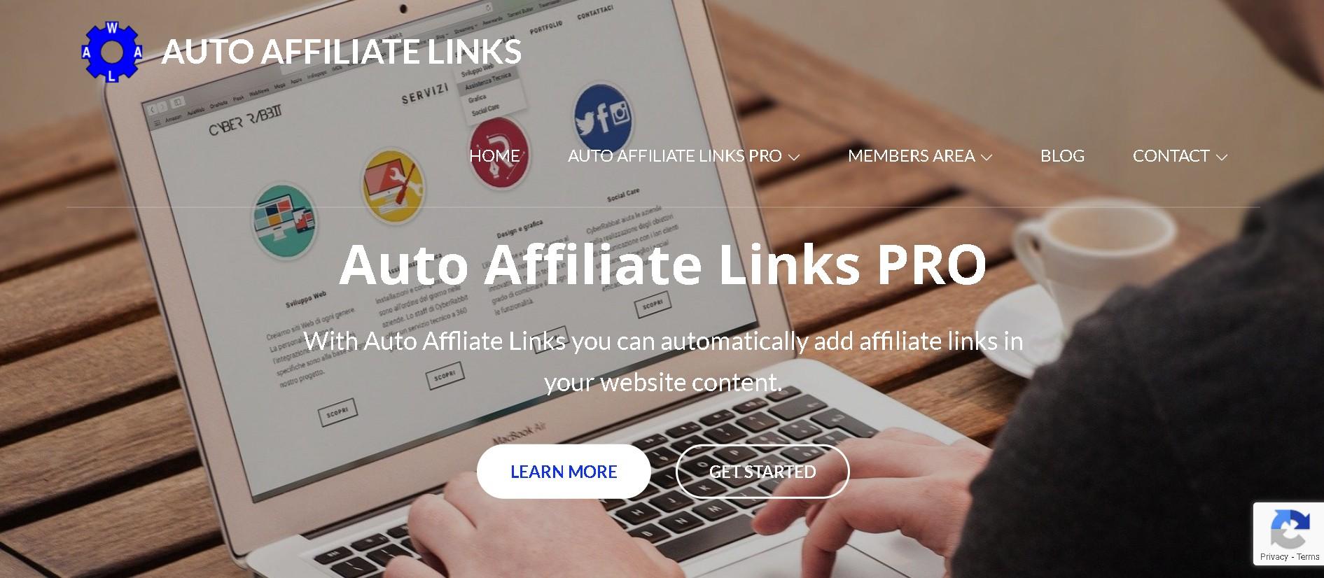 Auto affiliate links