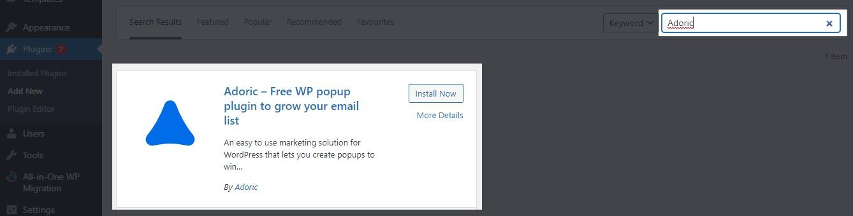 multi-step optin popup