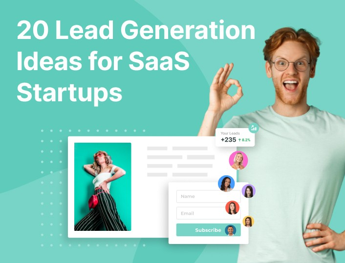 lead generation ideas for saas startup